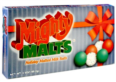 Mighty Malts Holiday Malted Milk Balls 3.5oz. (discontinued)