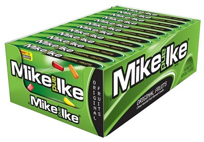Mike & Ike Original Fruits Theater Boxes 12ct.