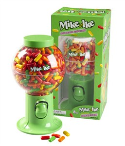 Mike and Ike Gum Dispenser (Sold out)