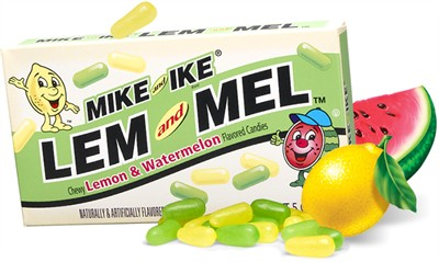 Mike & Ike Lem and Mel Theater Box 5oz.