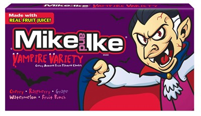 Mike and Ike Vampire Variety Halloween Theater Box