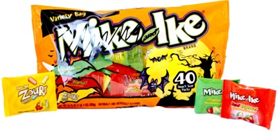 Mike & Ike Halloween Variety Snack Size Packs 40ct. (sold out)
