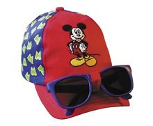 Mickey Mouse Kids Cap with Sunglasses (sold out)