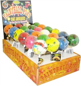 Giant Jawbreaker Paintball Pops 24ct.