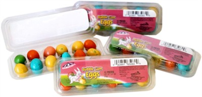 Bubble Gum Mini Easter Eggs - 4 Egg Cartons