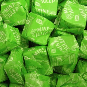 Necco Mint Julep Candy Chews 1LB