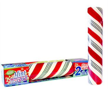Mint Twists Giant Solid Peppermint Stick 2LB
