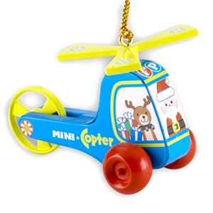 Mini-Copter Christmas Tree Ornament (sold out)