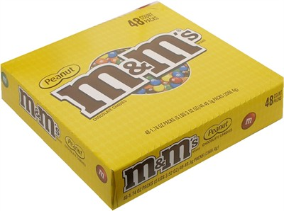 M&M's Peanut 48ct