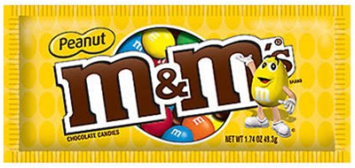 M&M's Peanut Candy - 2ct.