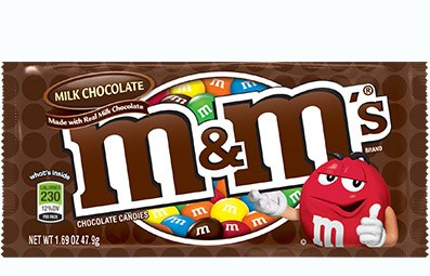 M&M's Plain Candy