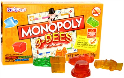 Monopoly 3-Dees Gummies Theater Box (sold out)