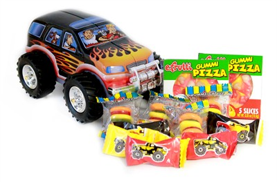 Monster Truck Candy Assortment Tin