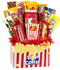 Movie Time Theatre Candy Basket