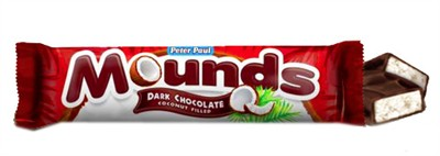 Mounds Candy Bars - 2ct