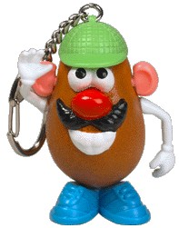 Mr. Potato Head Novelty Keychain (sold out)