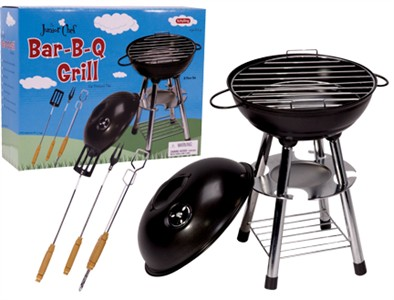Junior Chef Bar-B-Q Grill Set (Discontinued)