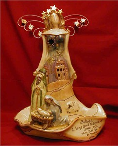 Nativity Angel Tealight Holder (sold out)