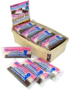 Neapolitan Coconut Slices 24ct. Basket