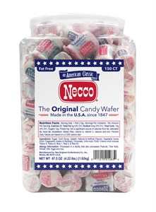 Neccos Assorted Wafers Mini 150ct. Tub