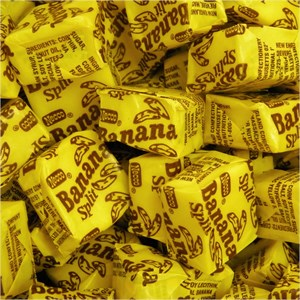 Necco Banana Split Candy Chews 5LB