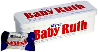 Nestle Baby Ruth Bar Tin (discontinued)