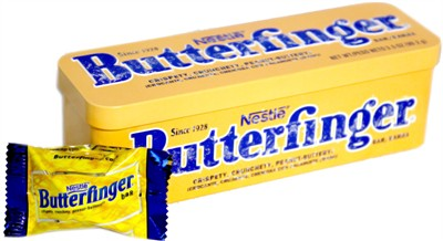 Nestle Butterfinger Bar Tin (discontinued)