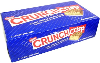 Nestle Crunch Crisp Chocolate Bars 24ct. (sold out)