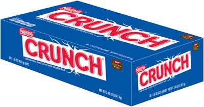 Nestle Crunch Milk Chocolate Bars 36ct.(sold out)