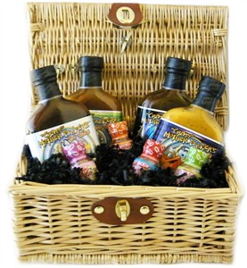 Crazy Mother Pucker's Hot Sauce Gift Basket (temp out)