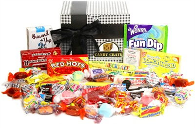 Classic Nostalgic Candy Assortment Gift Box