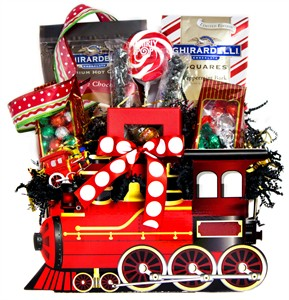North Pole Express Christmas Candy Train