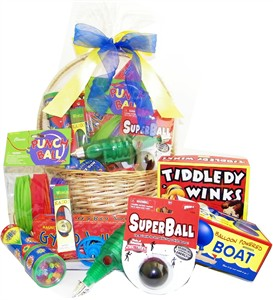 Nostalgic Toy Gift Basket (Sold Out)