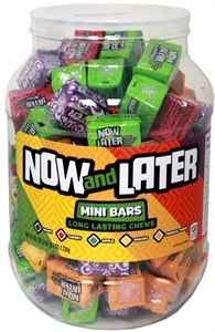 Now and Later Mini Bars Assorted Tub (coming soon)