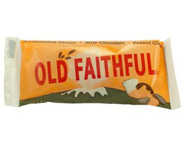 Old Faithful Peanut Cluster Chocolate Bar
