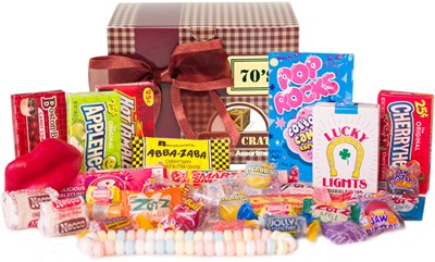 <strong>Old Fashioned Sweets Decade Gift Box - Choose Your Decade </strong>