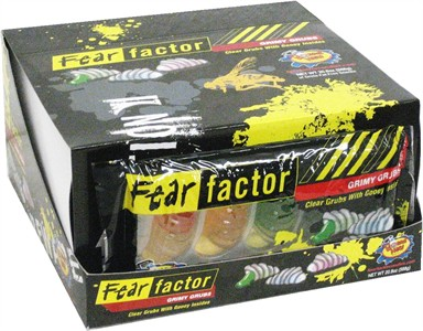 Fear Factor Grimy Grubs 12ct. (DISCONTINUED)