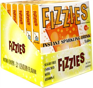 Fizzies Candy Drink Tablets - Orange 6ct.