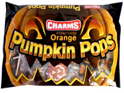 Charms Orange Pumpkin Pops 11.oz.