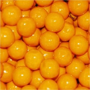Sixlets Orange Candy - 5LB