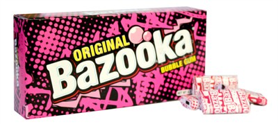 Bazooka Bubble Gum - Original 4oz.