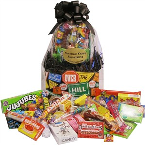 Over The Hill Candy Gift Basket (DISCONTINUED)