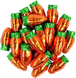 Parsnip Pete's Double Crisp Carrot Bunny Treats 1lb