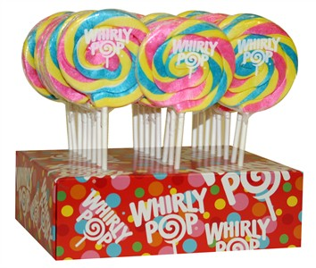 Pastel Whirly Pop 1.5oz - 3 inch 24ct.