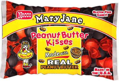 Mary Jane Peanut Butter Kisses 1lb (sold out)