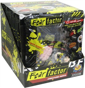 Fear Factor Creature Parts 12ct. (DISCONTINUED)