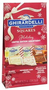 Ghirardelli Squares Holiday Chocolate Assortment 7.18oz. (sold out)