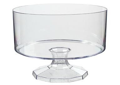 Clear Pedestal Candy Container for Candy Buffets