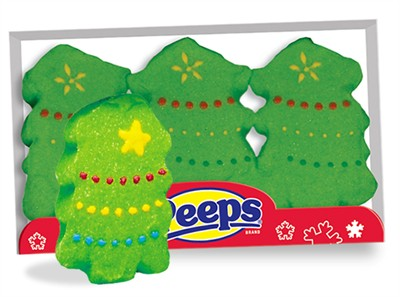 Christmas Trees Marshmallow Peeps