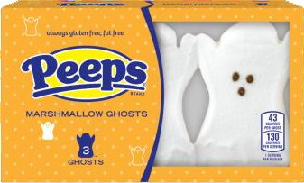 Ghosts Marshmallow Peeps 3ct. (sold out)